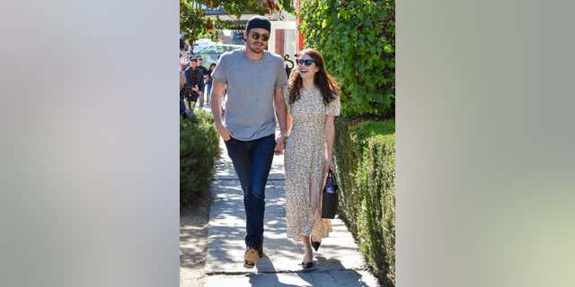 Garrett Hedlund (L) and Emma Roberts (R) greeted their first child together on December 27th in Los Angeles, California.