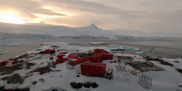 There are 36 coronavirus cases at the Gen. Bernardo O'Higgins Riquelme Antarctic base, Chile says. (Google Street View)