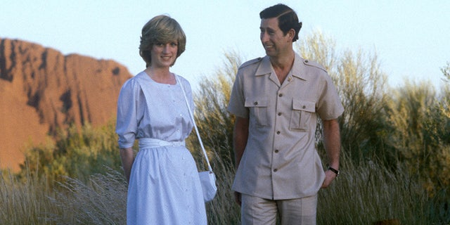Prince Charles, Prince of Wales, and Diana, Princess of Wales, visited Australia in 1983.