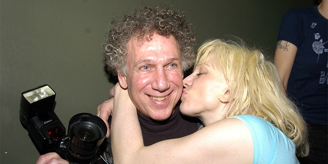 Bob Gruen (seen here with Courtney Love) has photographed some of the most iconic figures in music history.