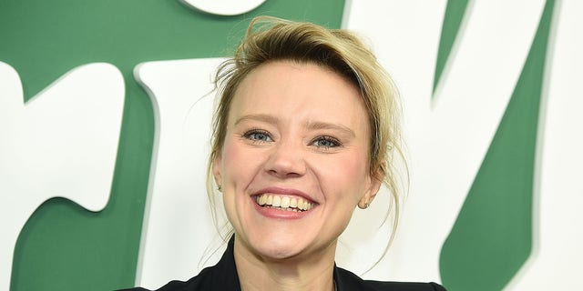 Kate McKinnon is seen March 13, 2019, in New York City. (Getty Images)
