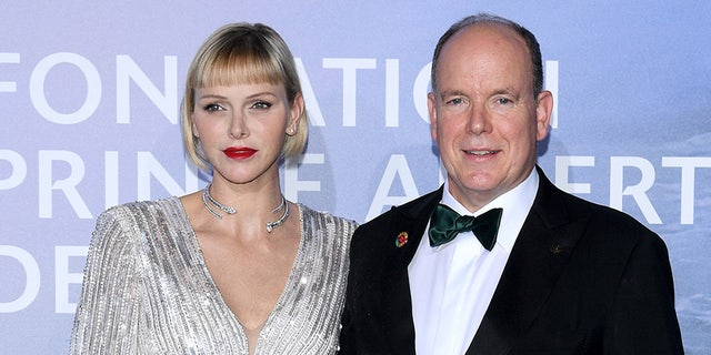 Princess Charlene and Prince Albert tied the knot in 2011.