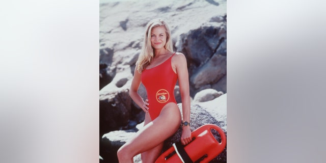 Brooke Burns starred as aspiring lifeguard Jessie Owens in 'Baywatch' during the 1998-1999 season.