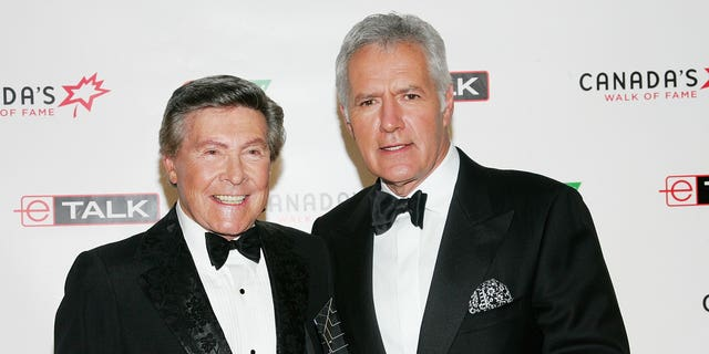 Johnny Gilbert -- the voice behind 'Jeopardy!' --is remembering the late Alex Trebek.Gilbert and Trebek reportedly met at an industry convention before the relaunch of the game show in 1984. (Photo by Evan Agostini/Getty Images for Chanel)