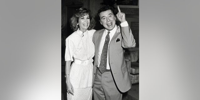 Kathie Lee Gifford said she has always admired Regis Philbin before they became close friends.