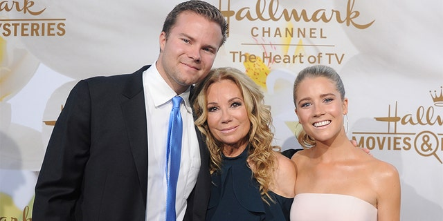 Kathie Lee Gifford said her son Cody (pictured here) doesn't always make it easy for her to date.