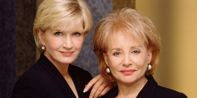 Connie Chung previously worked alongside Diane Sawyer (left) and Barbara Walters.