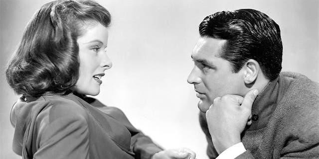 """Holiday"" (1938) stars Katharine Hepburn and Cary Grant."