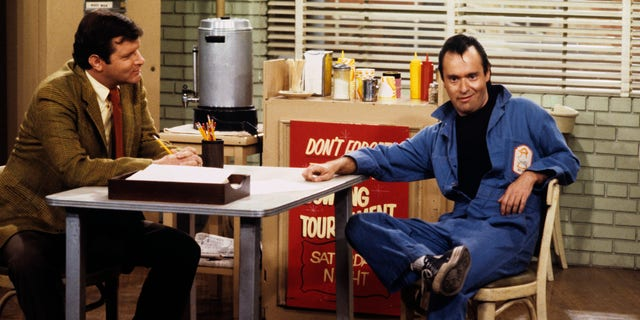 David Lander (R) in a scene from 'Laverne & Shirley.'
