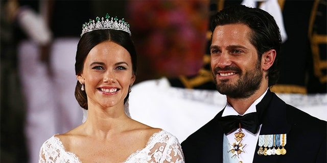 Princess Sofia and Prince Carl Philip married in 2015.