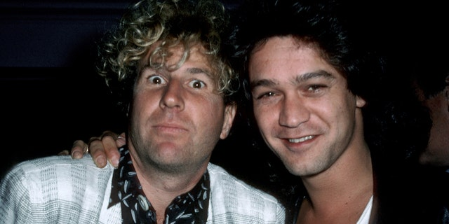 Sammy Hagar and Eddie Van Halen reportedly buried the hatchet before the latter's death in October.