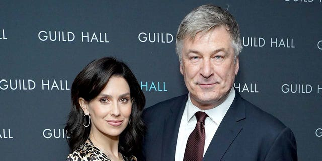 Alec Baldwin continues to defend his wife, Hilaria Baldwin against online attacks surrounding her Spanish heritage. (Photo by Sean Zanni/Patrick McMullan via Getty Images)