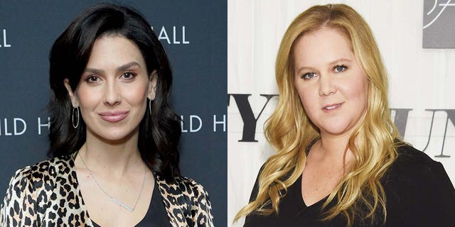 Amy Schumer explained why she deleted posts about Hilaria Baldwin.