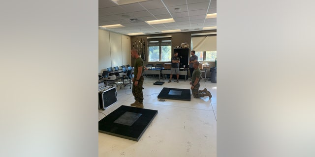 The U.S Marines using the Sparta Science system were taken at the School of Infantry – West Training Command at MCB Camp Pendleton, California. (Courtesy Sparta Science)