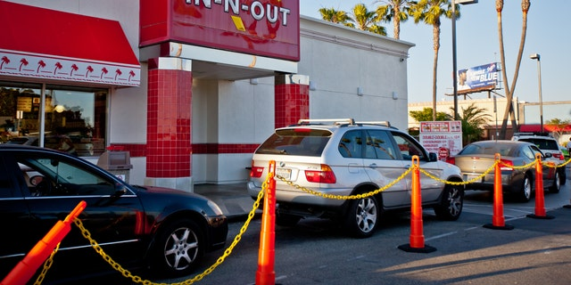 "When the outbreak was first reported at the Colorado locations (not pictured), Denny Warnick, In-N-Out's vice president of operations, said the affected employees and those who had contact with them ""have been excluded from the workplace."""