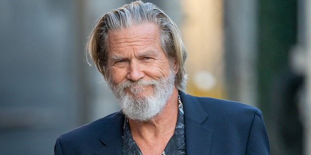 Jeff Bridges shows off shaved head and shares health update