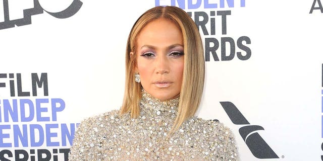 Jennifer Lopez said that her family has enjoyed painting and playing Wiffle ball while staying at home during the pandemic. (Photo by Albert L. Ortega/Getty Images)