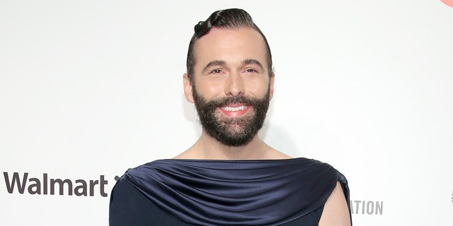 Jonathan Van Ness received the first dose of the vaccine in late February.