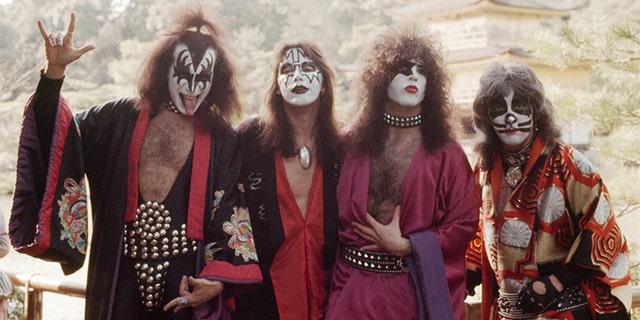 KISS in Japan, March 1977.