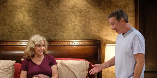 L-R: Nancy Travis and Tim Allen in 'Last Man Standing.'