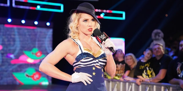 Lacey Evans said that joining the Marines 'saved my life'