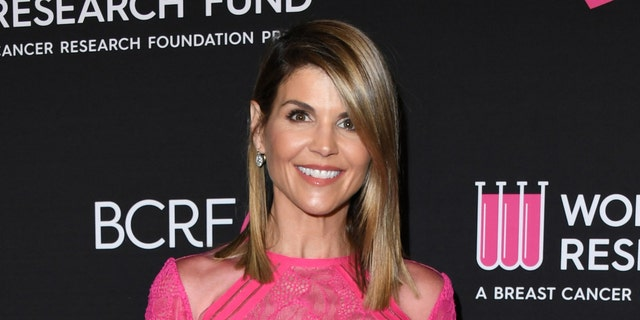 Lori Loughlin was released from prison after serving her sentence. (Photo by Jon Kopaloff/FilmMagic)