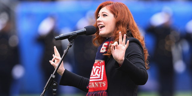 Mandy Harvey has 339,000 monthly Spotify listeners and her music is streamed more than 5 million times per month. (Photo by Al Pereira/Getty Images)