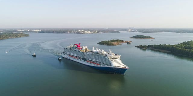The Mardi Gras will set sail on April 24, 2021, the cruise line announced Thursday.