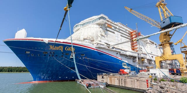 The name is a homage to Carnival's original ship, the TSS Mardi Gras. But the new Mardi Gras is much, much bigger.