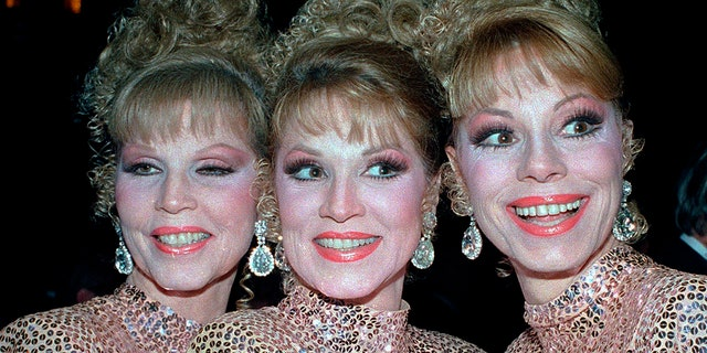The McGuire Sisters, from left: Christine, Phyllis and Dorothy. (Associated Press)