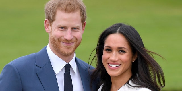 Prince Harry and his wife Meghan Markle. (Photo by Karwai Tang/WireImage)