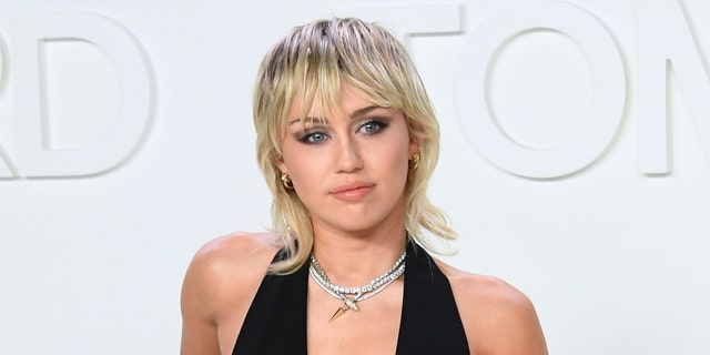 Miley Cyrus has worn a mullet in recent months. (Photo by Mike Coppola/FilmMagic)