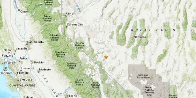 Nevada hit with 5.1 earthquake
