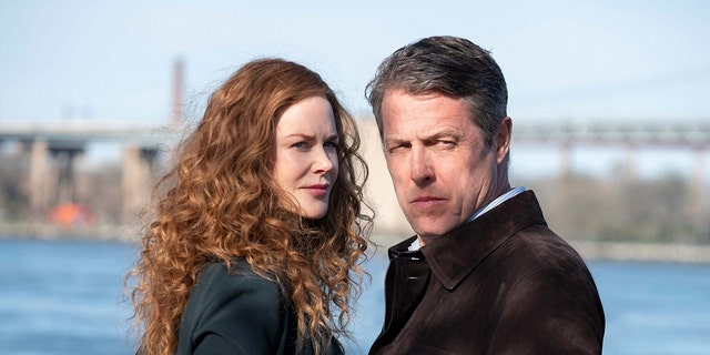 "Nicole Kidman and Hugh Grant star in HBO's thriller drama ""The Undoing."" (NIKOTAVERNISE.COM / HBO)."