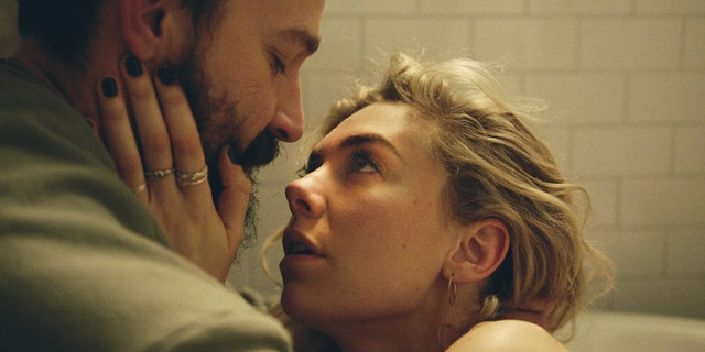 (L to R) Shia LeBeouf as Sean and Vanessa Kirby as Martha in 'Pieces of a Woman.'