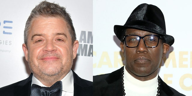 Wesley Snipes, 对, denied Patton Oswalt's 2012 claim he tried to strangle 'Blade: Trinity' director David Goyer.