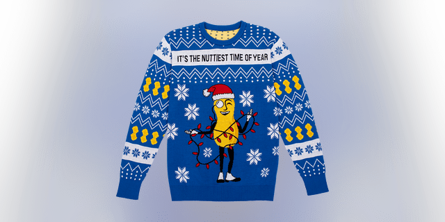 Despite the newest mascots, the Christmas collection features the beloved Mr. Peanut.
