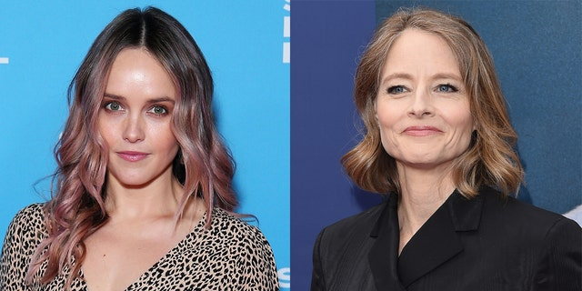 Rebecca Breeds (left) will star as the titular character in CBS' 'Clarice,' a role that previously won Jodie Foster (right) an Oscar when she starred in the 1988 film 'The Silence of the Lambs.'