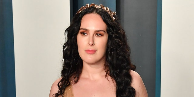 Rumer Willis urged fans to wear a face mask amid the ongoing coronavirus pandemic. (Photo by Allen Berezovsky/Getty Images)