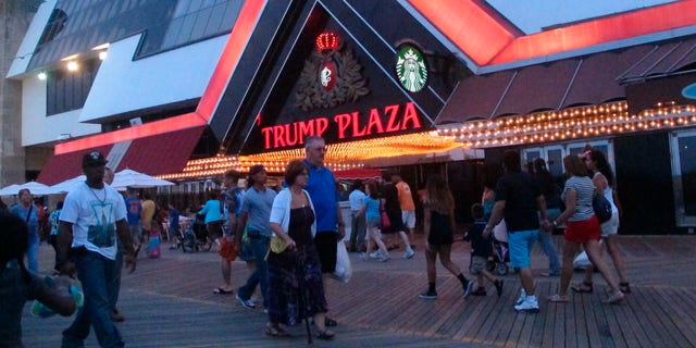 The opportunity to blow up Trump's former casino is up for auction