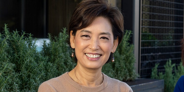 BUENA PARK, CA - DECEMBER 18 2020: Young Kim was elected to U.S. House of Representatives in November 2020. Kim represents the 39th congressional district. Kim and GOP Leader Kevin McCarthy were the lead authors of a letter to Gov. Gavin Newsom on Feb. 16, 2021, that demanded answers on California's vaccine rollout. (Photo by Paul Bersebach/MediaNews Group/Orange County Register via Getty Images)