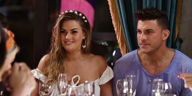 Pictured: (l-r) Brittany Cartwright and Jax Taylor have left 'Vanderpump Rules'