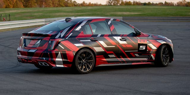 .The CT5-V Blackwing will compete with cars like the BMW M5