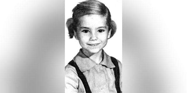 Kathie Lee Gifford in the first grade.