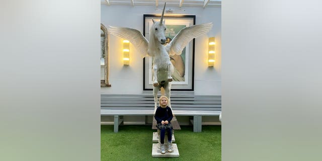Buyers will be enchanted by the unicorn if they're as mesmerized as Newey's young daughter Rosamund was when she got to meet the fantastic beast.