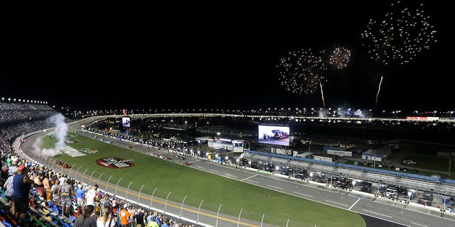 The 2020 Coke Zero Sugar 400 was held with a limited number of fans in attendence.