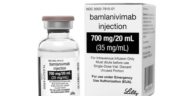 Bamlanivimab, the first antibody drug to help the immune system fight COVID-19.