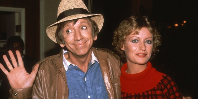 Bob Denver and his wife Dreama circa 1981 in Los Angeles, California. Dreama remembered her late friend Dawn Wells following her death.