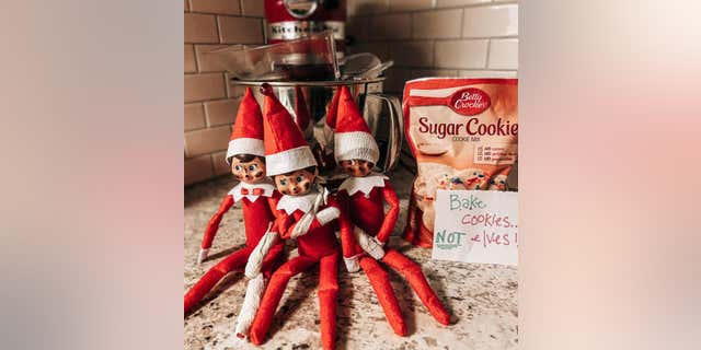 Chelsea Hightower was able to replace the elves after a four house shopping trip around Kansas.