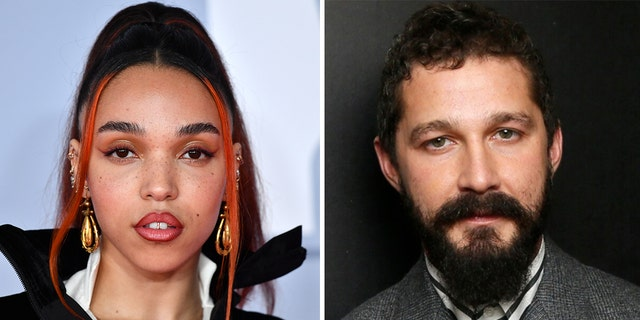 FKA twigs (left) has filed a lawsuit against Shia LaBeouf (right), accusing him of abusing her during their former relationship.